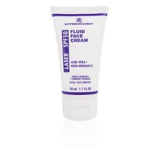 Laser fluid crema facial spf 50