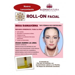 Roll-On Facial Rosa