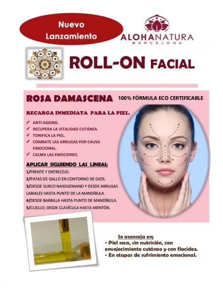 Roll-On Facial Rosa