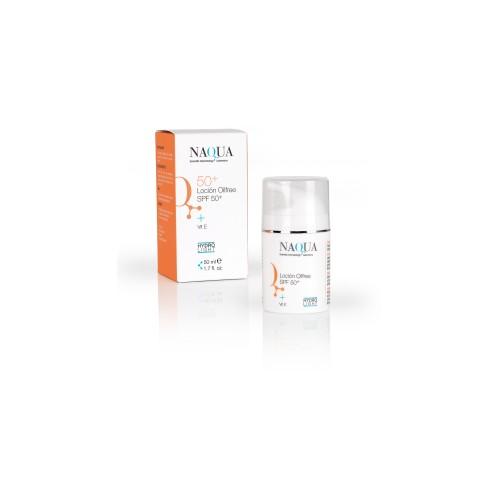 proteccion solar Q50+ NAQUA