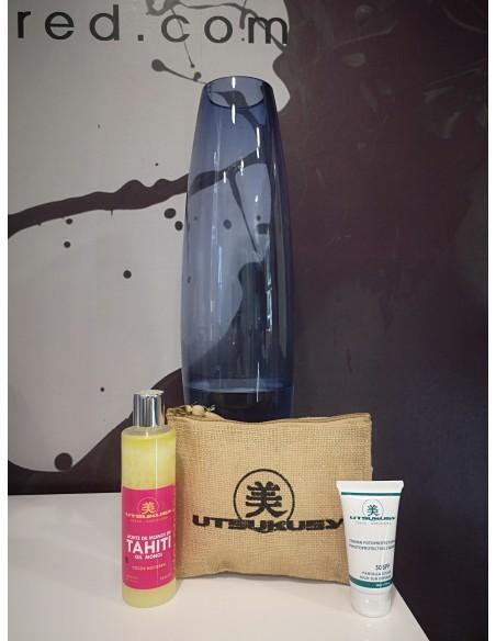 Bronceador monoi +crema facial SPF50 hidratante
