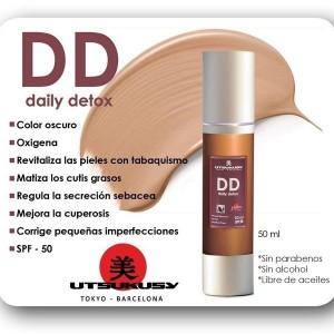 DD Daily detox sin brillo spf50