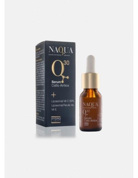 Naqua Q30 Serum Cells-Antiox Liposomal Vit C 30% Liposomal Ferulic Ac. Vit E
